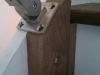 Bolted Walnut Block with Post