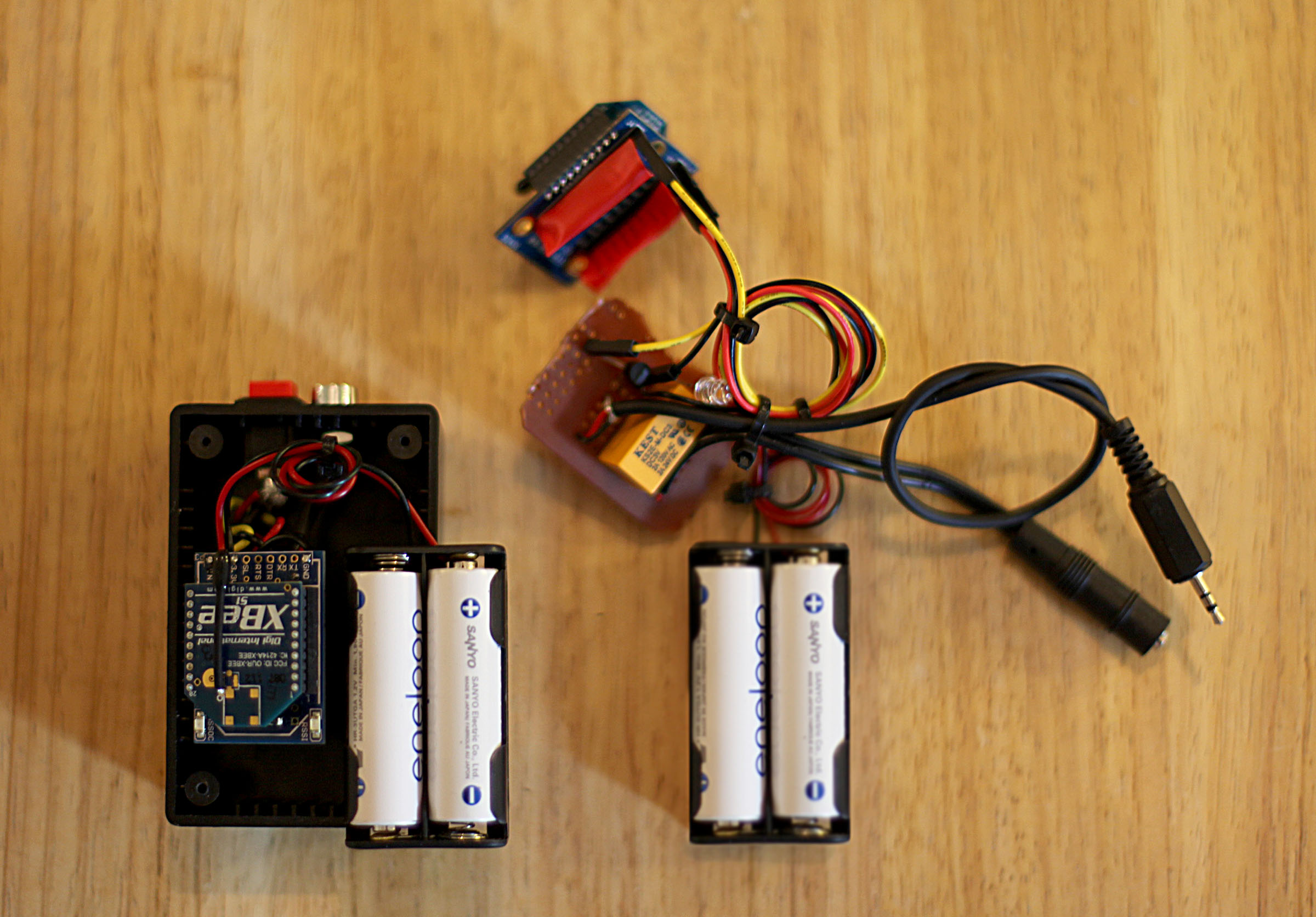 XBee Button Relay Photo Trigger RF