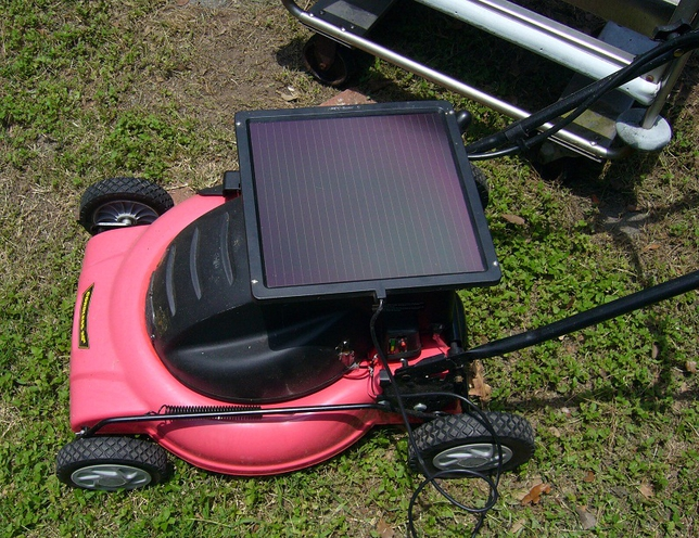 solar-power-lawn-mower